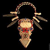 "Украшения handmade. Livemaster - original item ""The Spirit of the Great Steppe"" -  the necklace in ethnic style. Handmade."