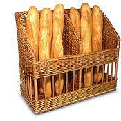 Хлебницы ручной работы. Ярмарка Мастеров - ручная работа Багетница «Дижон» для хлеба. Handmade.