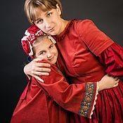 Одежда handmade. Livemaster - original item Dress velvet. Handmade.