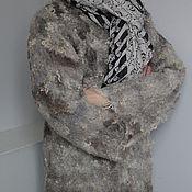 """Одежда ручной работы. Ярмарка Мастеров - ручная работа Валяный жакет """"Бежевая овечка"""". Handmade."""