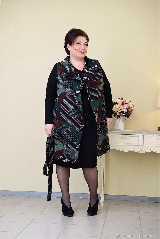 Italian jacket made from a warm double-knit Art.2031, Jackets, Kirov,  Фото №1