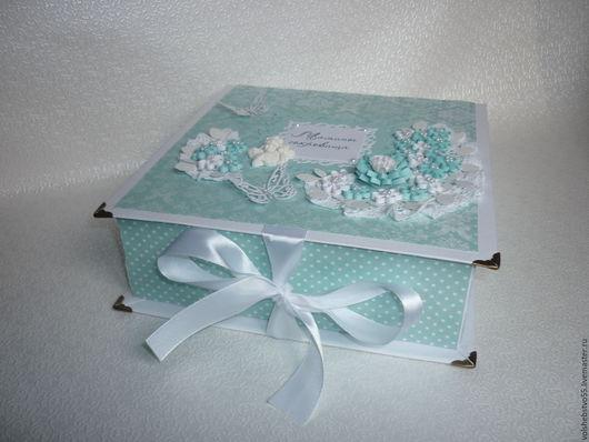 Подарки для новорожденных, ручной работы. Ярмарка Мастеров - ручная работа. Купить Мамины сокровища для мальчика, мамина сокровищница. Handmade. Голубой