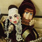 Куклы и игрушки ручной работы. Ярмарка Мастеров - ручная работа ОН и ОНА. Пальчиковые куклы. Handmade.
