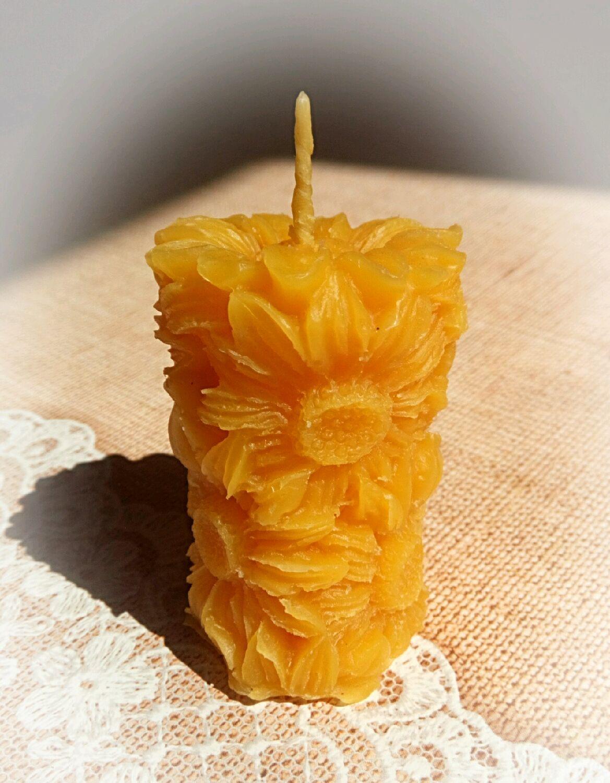 Массажная свеча своими руками из пчелиного воска 39