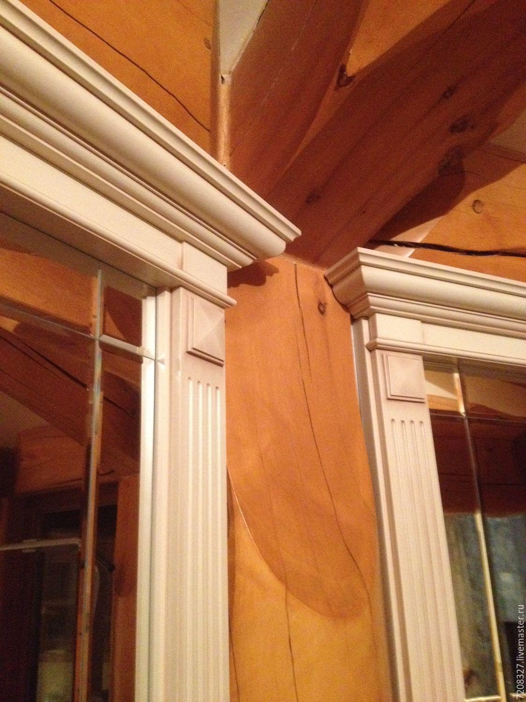 Банные принадлежности ручной работы. Ярмарка Мастеров - ручная работа. Купить Обрамление фасада для окна. Handmade. Наличник
