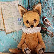 Куклы и игрушки ручной работы. Ярмарка Мастеров - ручная работа Лис Жак. Handmade.