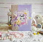 Канцелярские товары handmade. Livemaster - original item Album Panda Bear. Handmade.
