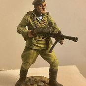 Куклы и игрушки handmade. Livemaster - original item Tin soldier collectible painting 54 mm.. Handmade.