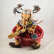 """Русский стиль ручной работы. Ярмарка Мастеров - ручная работа Баба-Яга """" Дуняша"""". Handmade."""
