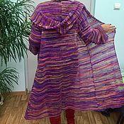 """Одежда ручной работы. Ярмарка Мастеров - ручная работа Кардиган вязаный """" Осенняя радуга"""". Handmade."""