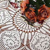 """Для дома и интерьера ручной работы. Ярмарка Мастеров - ручная работа Салфетка """"Винтажные Розы"""". Handmade."""