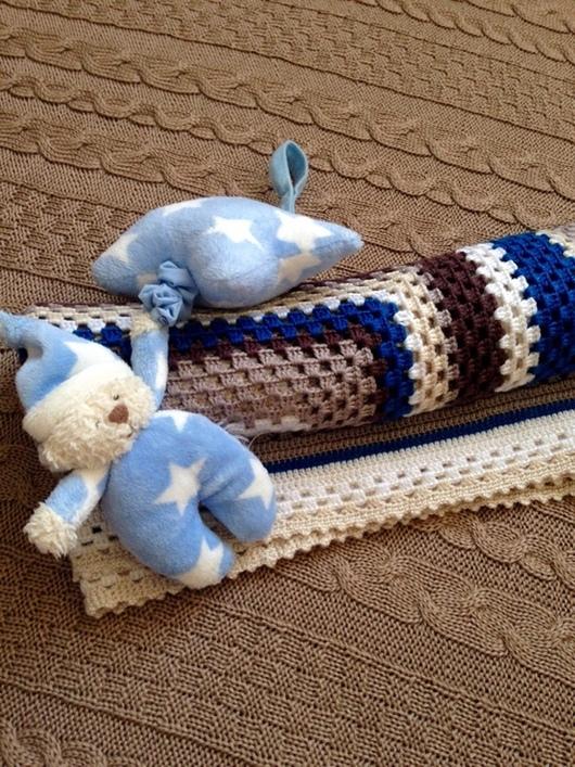 Для новорожденных, ручной работы. Ярмарка Мастеров - ручная работа. Купить Плед для малютки. Handmade. Плед, плед для малыша