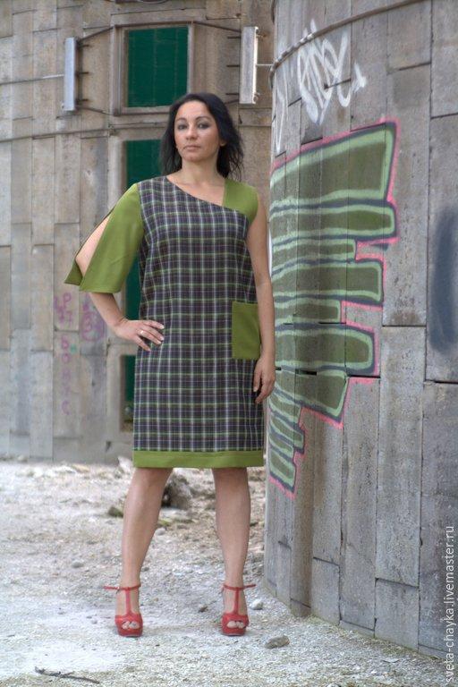 Платья ручной работы. Ярмарка Мастеров - ручная работа. Купить Платье шерстяное платье шерсть платье полушерсть. Handmade. Разноцветный