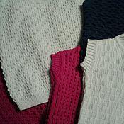 Одежда ручной работы. Ярмарка Мастеров - ручная работа Вязанные детские жилеты. Handmade.