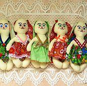 """Куклы и игрушки ручной работы. Ярмарка Мастеров - ручная работа зайка """"Ушастик"""". Handmade."""