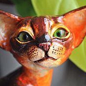 Для дома и интерьера handmade. Livemaster - original item Abyssinian cat Jora. Handmade.