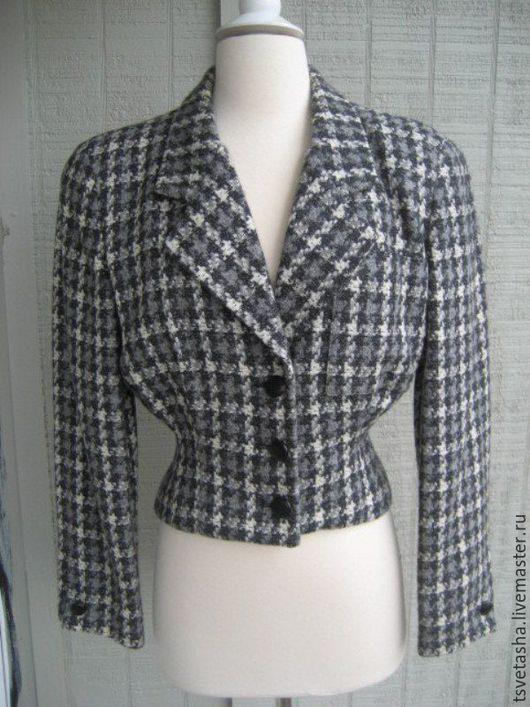 Одежда. Ярмарка Мастеров - ручная работа. Купить Жакет Christian Dior, 80-е гг.. Handmade. Комбинированный