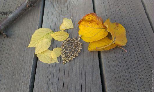 Кулоны, подвески ручной работы. Ярмарка Мастеров - ручная работа. Купить Кулон Золотая осень. Handmade. Кулон, золотой, бохо