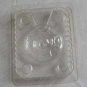 Материалы для творчества ручной работы. Ярмарка Мастеров - ручная работа Форма 3D для круглого мыла, Bramble Berry, прозрачный пластик. Handmade.