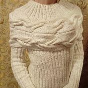 """Одежда ручной работы. Ярмарка Мастеров - ручная работа Свитер """"Горизонт"""". Handmade."""