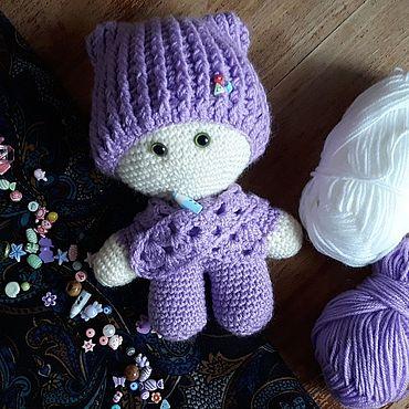 Куклы и игрушки ручной работы. Ярмарка Мастеров - ручная работа Миниатюрные игрушки: пупсик. Handmade.