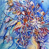 Картины и панно ручной работы. Ярмарка Мастеров - ручная работа Зимний букет. Handmade.