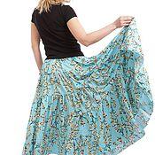 """Одежда ручной работы. Ярмарка Мастеров - ручная работа Ярусная юбка """"Весенний цвет"""". Handmade."""