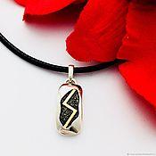 Фен-шуй и эзотерика handmade. Livemaster - original item Success, Glory-Soulo Amulet silver gold Plated Pendant. Handmade.