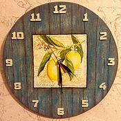 Для дома и интерьера ручной работы. Ярмарка Мастеров - ручная работа Часы настенные декупаж. Handmade.
