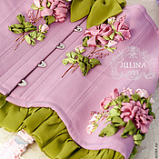 """Одежда ручной работы. Ярмарка Мастеров - ручная работа Корсет """"Королевский Цветок"""". Handmade."""