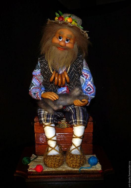 """Коллекционные куклы ручной работы. Ярмарка Мастеров - ручная работа. Купить Хранитель дома """"Дед Ерофей"""". Handmade. Living doll"""