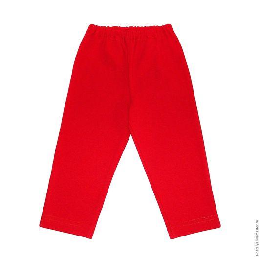 """Одежда для девочек, ручной работы. Ярмарка Мастеров - ручная работа. Купить Бриджи детские """" Ярко- Красные """". Handmade."""