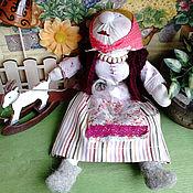 Куклы и игрушки ручной работы. Ярмарка Мастеров - ручная работа Кукла Бабка с козочкой. Handmade.