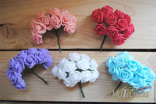 Куклы и игрушки ручной работы. Ярмарка Мастеров - ручная работа. Купить Цветы искусственные розы. Handmade. Комбинированный, розы