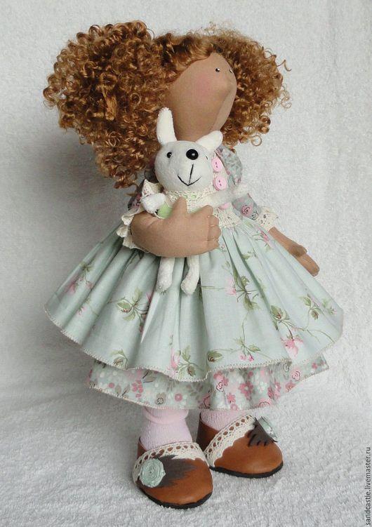 Куклы Тильды ручной работы. Ярмарка Мастеров - ручная работа. Купить Кукла интерьерная Мэри Лу. Handmade. Мятный, девочка