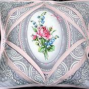 Для дома и интерьера ручной работы. Ярмарка Мастеров - ручная работа наволочка Цветочное окно. Handmade.