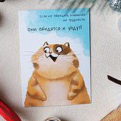 Открытки handmade. Livemaster - original item Card