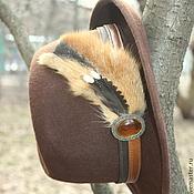 Подарки ручной работы. Ярмарка Мастеров - ручная работа Охотничья  шляпа. Handmade.