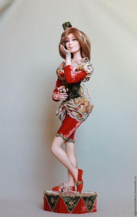 Коллекционные куклы ручной работы. Ярмарка Мастеров - ручная работа. Купить Поцелуй. Handmade. Кукла ручной работы, подарок женщине