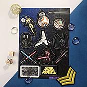 Стикеры ручной работы. Ярмарка Мастеров - ручная работа Стикеры: Star Wars. Handmade.