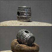 Материалы для творчества handmade. Livemaster - original item Barrel charm. Handmade.