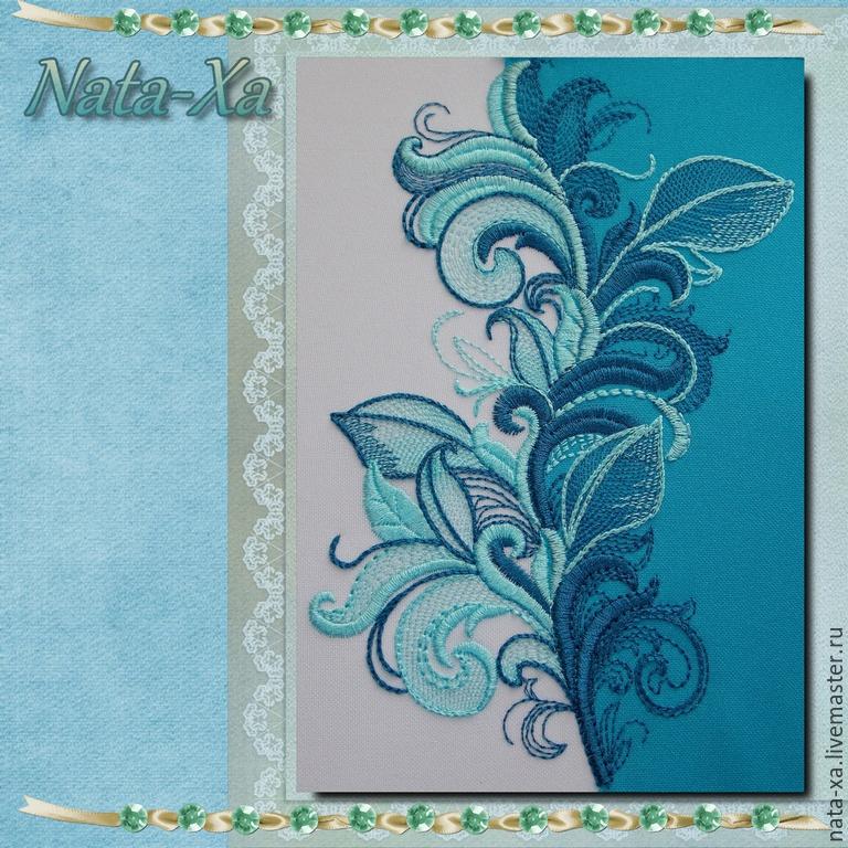 Дизайны для машинной вышивки осинка 44