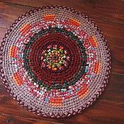 """Для дома и интерьера ручной работы. Ярмарка Мастеров - ручная работа текстильный коврик """"Малыш"""". Handmade."""
