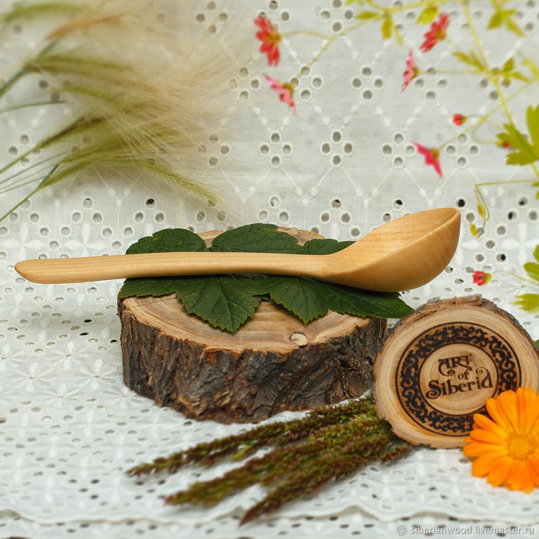 Wooden spoon 170#17, Spoons, Novokuznetsk,  Фото №1