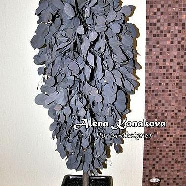 Дизайн и реклама ручной работы. Ярмарка Мастеров - ручная работа Дерево из стабилизированного эвкалипта. Handmade.