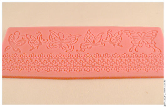 Для украшений ручной работы. Ярмарка Мастеров - ручная работа. Купить Текстурный лист 18 см.. Handmade. Бледно-розовый