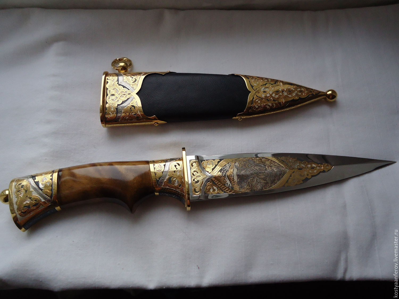 Dagger hunting, Souvenir weapon, Chrysostom,  Фото №1