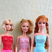 Куклы и игрушки ручной работы. Ярмарка Мастеров - ручная работа Боди для кукол типа Барби. Handmade.