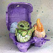 Куклы и игрушки ручной работы. Ярмарка Мастеров - ручная работа Драконьи яйца. Dragon eggs.. Handmade.