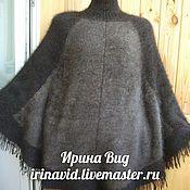 Одежда ручной работы. Ярмарка Мастеров - ручная работа Пончо из собачьей шерсти. Handmade.
